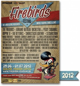 Flyer Firebirds Festival 2012