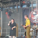 The Booze Bombs beim Rockabilly Firebirds Festival