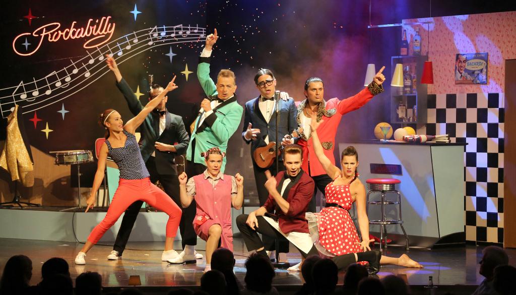 Rockabilly-Show im GOP Varieté-Theater