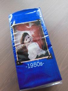 Vintage Taschentücher 1950