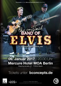 The original band of Elvis Konzert 2017 Berlin