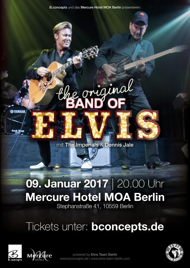 The original band of Elvis Konzert 2017 Berlin